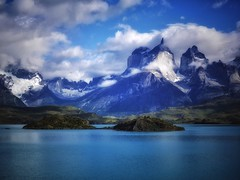 Patagonia (Costa Rica Bill) Tags: mountain beautyinnature scenics mountainrange nature sky wilderness water landscape outdoors tranquilscene idyllic tranquility nopeople snow day