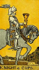 Knight of Cups (~ Lone Wadi ~) Tags: tarot tarotcard blackmagic fortunetelling sorcery occult retro 1910s knightofcups