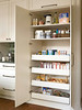 Pull-Out Cabinet Shelves (Heath & the B.L.T. boys) Tags: kitchen pantry organize
