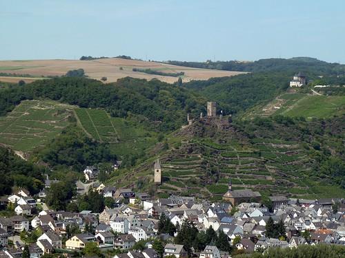 Blick nach Kobern-Gondorf