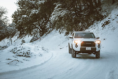 White on White (Shutter Theory) Tags: 4runner toyota yota angelesnationalforest sawmillmountainroad lakehughes southerncalifornia socalmountains snow 4x4 offroad winter wonderland