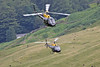 A pair of RAF Squirrels, Dunmail, 13/7/16 (TheSpur8) Tags: landlocked lowlevel aircraft date uk squirrel lakedistrict helicopter military skarbinski dunmailraise 2016 anationality places transport