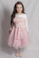 IMG_1505 (DouxVide) Tags: girl kid pink dress tutu tulle