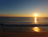 The sun rises over the Atlantic Ocean. Captured via a DJI Phantom 4. (apardavila) Tags: atlanticocean djiphantom4 jerseyshore manasquan manasquanbeach aerial drone sun sunrise
