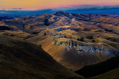 Sunrise over Mt. Erin (Jos Buurmans) Tags: hastings havelocknorth hawkesbay hills hilly landscape morning mountain mountainlandscape mountains mterin nature newzealand northisland peaks rollinghills summer sunrise tematapeak mountainscape nz