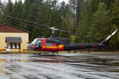 N64RA (sabian404) Tags: n64ra rr conner aviation helicopters bell uh1b uh1 huey heavy lift forest logging 6512854 oakridge state airport 5s0