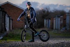 Nathan (MX Man) Tags: godox ving 850 fuji xt 2 90 mm f20 strobist boy son cycle trials echo super lite urban portrait nuneaton coventry warwickshire