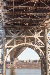 George Washington Bridge (Erin Cadigan Photography) Tags: fortlee newjersey unitedstates gwb george washington bridge fort lee historic park architecture