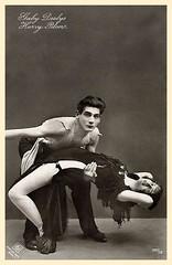 Mr Harry Pilcer. Dancer. (FANNY BRICE  Website  .brice.nl) Tags: dancer revue maledancer