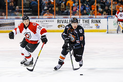 "Missouri Mavericks vs. Cincinnati Cyclones, January 25, 2017, Silverstein Eye Centers Arena, Independence, Missouri.  Photo: John Howe / Howe Creative Photography • <a style=""font-size:0.8em;"" href=""http://www.flickr.com/photos/134016632@N02/32405472722/"" target=""_blank"">View on Flickr</a>"