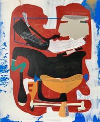 Jim Harris: Prototype V. (Jim Harris: Artist.) Tags: art arte painting konst kunst künstler technology weltraum space cosmos