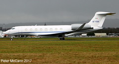 M-YSIX G650 Glasgow Feb 2017 (pmccann54) Tags: mysix gulfstream650