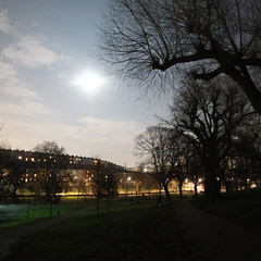 041 - totally a daytime photo (talkie_tim) Tags: filenameimg5405 nightshot park moon night trees totterdown
