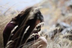 Island of the universe (Milena Galizzi) Tags: muse lucrezia portrait mountain field grass side gipsy land