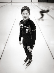 (-Antoine-) Tags: portrait canada motion blur ice sports girl sport speed campus torino movement track montral quebec montreal skating environmental arena qubec skate short rink skater olympic olympics athlete turin fille skates anouk boucher flou jeuxolympiques mouvement glace olympiq