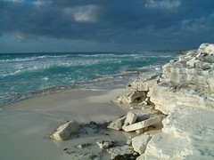 in the morning light (nudaedalus) Tags: ocean beach water rock clouds cuba caribbean largo cayo