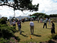 Carlton Seamill Croquet Tournament, July 2003 (A Rennie) Tags: beach hotel scotland bb accommodation beachfront arran holyisland strathclyde guesthouse ayrshire seamill oceanfront cumbrae portencross firthofclyde hunterston seamillhydro westkilbride westofscotland carltonseamill seamillbb westkilbridebb seamillhotel westkilbridehotel