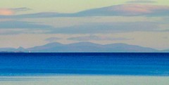 Caithness View in blue (ccgd) Tags: blue sea lighthouse scotland highlands photoshopped sutherland nairn caithness i500 eastross scotlandblog