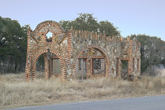 Petrified Wood Building (Viajante) Tags: wood building abandoned texas ruin historic dilapidated petrified glenrose