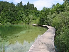 The Path (OaklandNative) Tags: bridge favorite lake nature water nationalpark path croatia plitvice plitvicka jezera