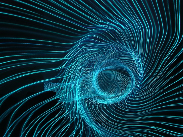 Light Painting #14 (Vortex)