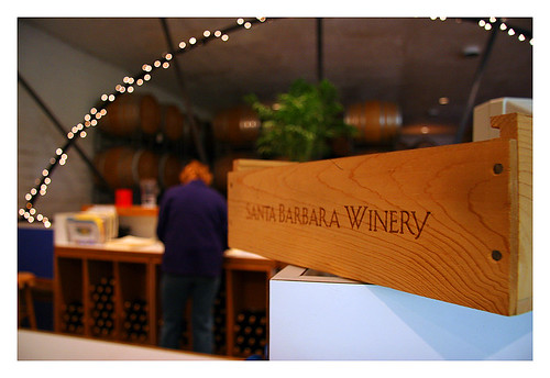 Santa Barbara Winery inside