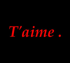 Chantal... (Michel Craipeau) Tags: red france love canon rouge noir 2006 amour gif michel 1000 nantes chantal 1000views aimer powershotpro1 craipeau craipeaumichel defidefi