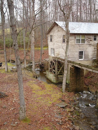 Grist Mill at Clarkson Covered Bridge, Cullman County AL