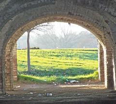 Bastion (ManonManon) Tags: light green beautiful composition view fort osijek croatia framing bastion slavonia millitary