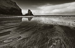 seastack at talisker bay - by Kalense Kid