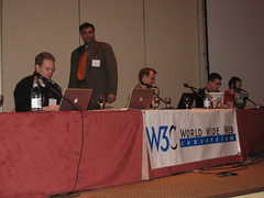 Microformats Panel at W3C Tech Plen