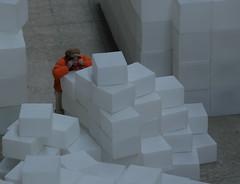 orange (estherase) Tags: uk orange london modern geotagged findleastinteresting tate strangers stranger hideandseek rachelwhiteread tatemodern turbinehall peopleidontknow embankment emssimp adayoutwithgordon geo:lat=51507734 geo:lon=0098898 250311