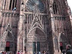 entrada de la catedral (EMEeuropa) Tags: francia estrasburgo