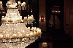 Amway Chandeliers (dailyinvention) Tags: michigan chandelier conference grandrapids macul amwaygrandplaza dailyinveniton