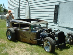 Model A? RatRod 3 (bigfuzzyjesus) Tags: cars hotrod streetrod ratrod backtothe50s