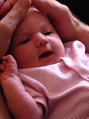 Oldest mate's baby (Dal) Tags: baby little awake