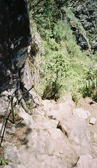 the way down (Rhonda_Marie) Tags: peru machu picchu machupicchu