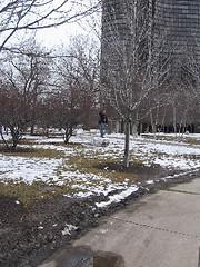 paul on snowman (lesley gallacher) Tags: paul tallbuildings aag2006