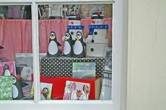 Sneeuwpop in etalage (renerotterdam) Tags: amsterdam schaufenster snowmen sneeuwpoppen shopwindows etalages renerotterdam schneimänner