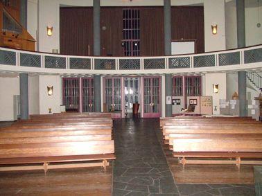 Keruzkirche Kassel - Blick auf die Orgel