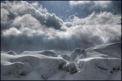 Winter heavens (VeloManiac) Tags: winter snow clouds landscape topv1111 topc50 2006 topf150 topf100 hdr salve aroundgeneva specland impressionsexpressions