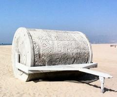 Walk On L.A. (seismocat) Tags: california santa beach tag3 taggedout concrete la losangeles los sand tag2 tag1 angeles santamonica monica carl roll cheng seismocat walkonla carlcheng