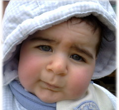 not_again.JPG (mind.abyss) Tags: blue baby eyes expression think hmmm wtf ponder mindabyss