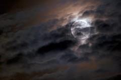 Serenade (Mr Geoff) Tags: blue red sky orange moon night clouds dark luna explore top20moonshots interestingness9 interestingness5 i500