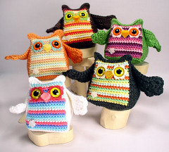 owlgroup1 (ElisabethD) Tags: cute stuffed doll softie amigurumi crocheted gourmetamigurumi