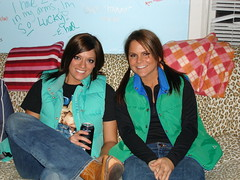 Matching Vests (annalise.ellen) Tags: vests puffy