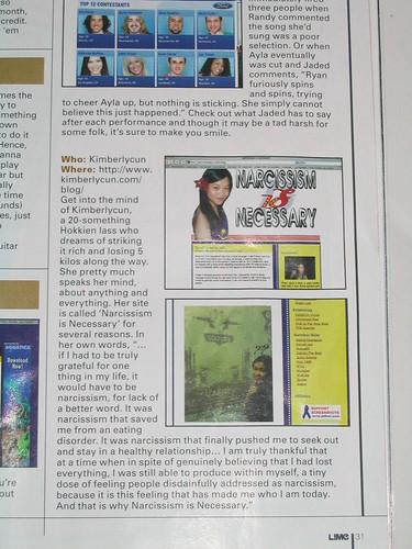Lime magazine.