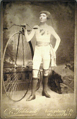 Rare Photograph of Mr. Velocipede