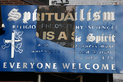 The sign of spiritualism decaying