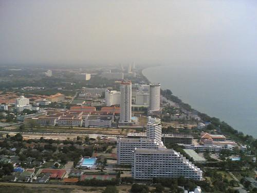 Pattaya Park Tower view over Jomtien